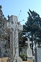 陽画陣外国人宣教師墓地