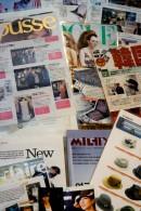雑誌にもたくさん載りました