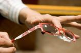可愛いフレーム眼鏡