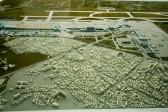 金蒲国際空港の模型.