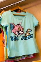 トムとジェリーTシャツ.