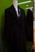 スエードのコート
