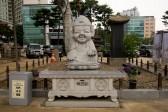可愛い大仏の像
