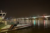 遊覧船と漢江