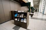 小スペースの図書コーナー