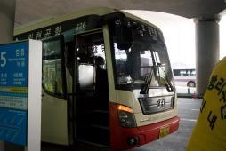 仁川空港から市内までのリムジンバス