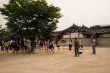 傳統的な遊びができる広場