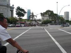 シンガポールの横断歩道