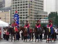 徳寿宮守門将交代式  騎馬隊