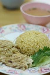 文堂吉新加坡鶏飯