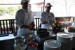 Kandaburi Resort & Spaの朝食