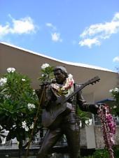エルビス・プレスリー像