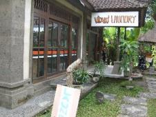 バリ島のクリーニング店