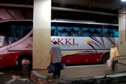 マラッカへの高速バス