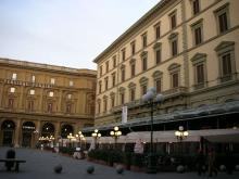 フィレンツェ・共和国広場
