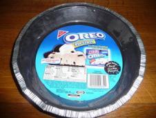 オレオのケーキ台
