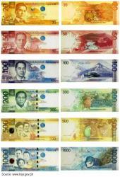 フィリピン・ペソ紙幣