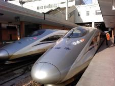 上海発の新幹線