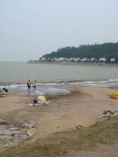 黒沙海岸(ハクサ・ビーチ)