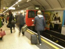 ロンドンの地下鉄