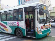 釜山のバス
