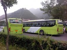 北京から八達嶺(万里の頂上)までの市外バス
