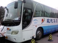 北京観光のツアーバス