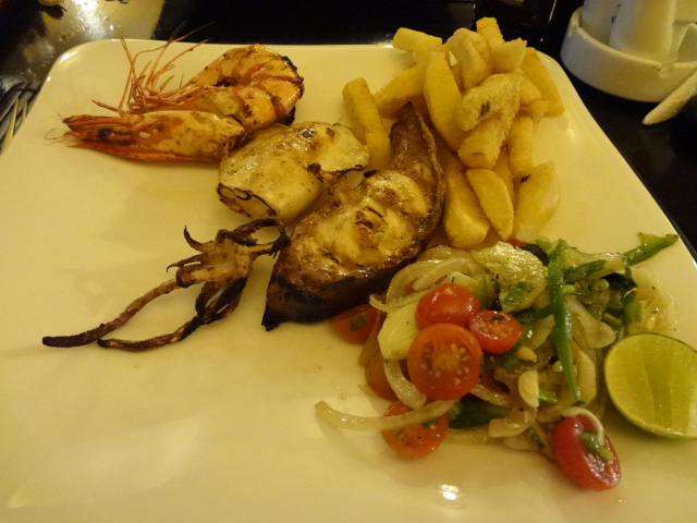Mix Grilled seafood