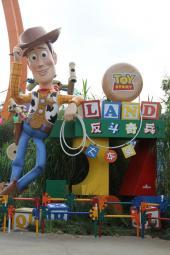 香港ディズニーランドのToy Story Land