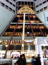 東大門市場のクリスマス