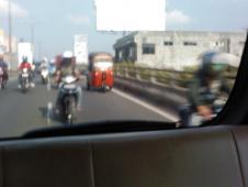 ジャカルタのバイク事情