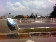 ジャカルタの高速道路