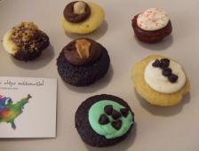 一口サイズの可愛いカップケーキ店「Baked by Melissa」!