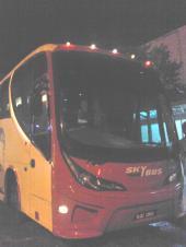 LCCTとKLセントラルを結ぶバス