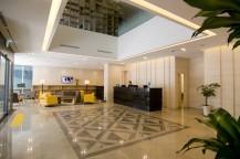 デイズホテル明洞 1階ロービーのアトリウム