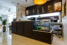 コーヒーショップのカウンター