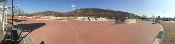 ソウルのスケートパークスポット