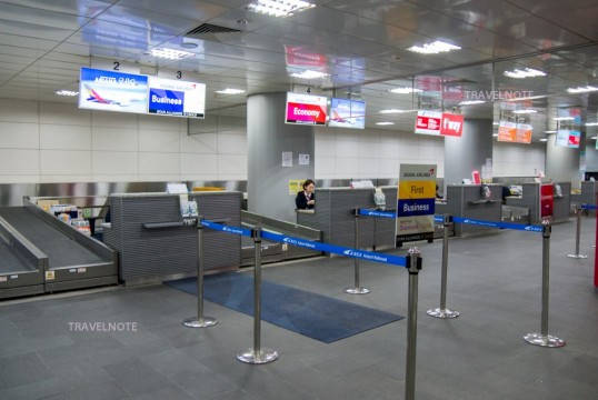 ソウル駅都心空港ターミナルで事...