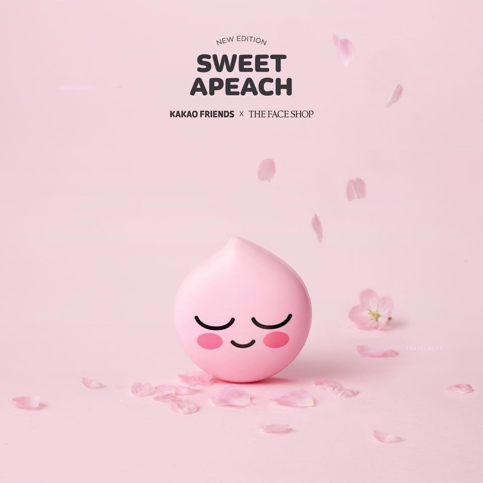 THE FACE SHOP ×APEACH化妆品上市