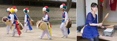 韓国民俗村観光ツアー(午後コース)