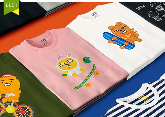 韓国ユニクロ限定!カカオフレンズTシャツ新発売