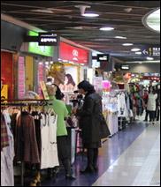 蚕室駅地下商街(チャムシルヨッチハサンガ/잠실역지하상가)
