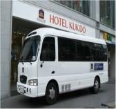 ホテル無料シャトルバス
