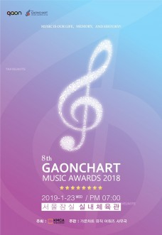 2019 8th GAONCHART MUSIC AWARDS(第八屆Gaon Chart K-POP頒獎禮)