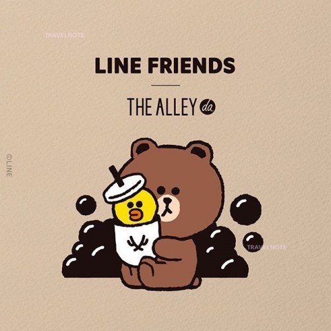 鹿角巷新推出THE ALLEY×LINE FRIENDS季节限定新菜单