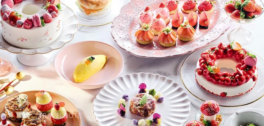 春の苺祭り「高級ホテル苺ビュッフェ総特集」